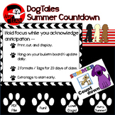 Dog theme Summer Countdown:  Count down the days left!