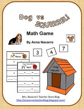 Dog vs Squirrel Math Game