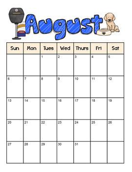 DogTales - Dog-themed monthly calendar