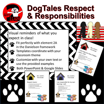 DogTales Respect & Responsibilities