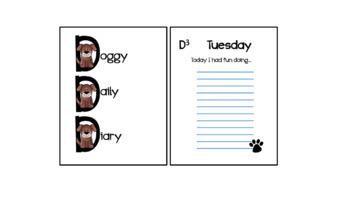 DogTales Bundle: daily journal, student portfolio, progress reports, exit slips