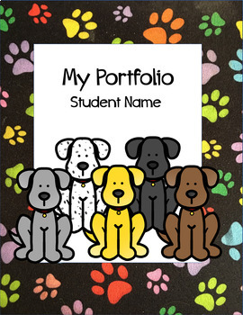 DogTales Bundle: daily journal, student portfolio, progress reports, exit slips