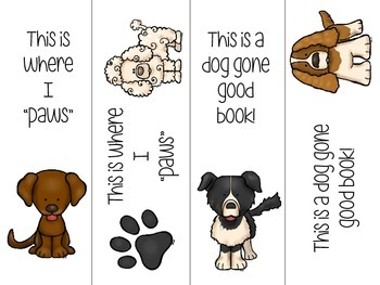 Doggie Bookmarks