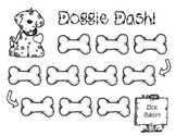 Doggie Dash ~ Blank Game Board for Reading, Spelling or Math Skills