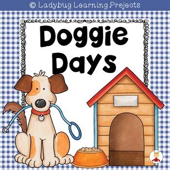 Doggie Days Picture Word Card Mini-Set For Kindergarten