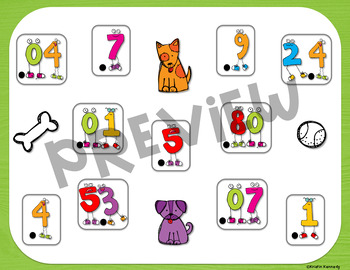 Doggie Decimal Bump Games (2 Separate Games)