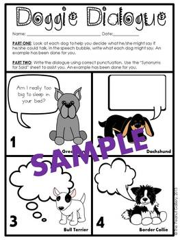 Doggie Dialogue (Set Three)