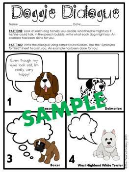 Doggie Dialogue (Set Two)