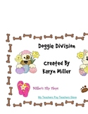 Doggie Division includes Fact Cards, Work Mats, Theme Counters & More