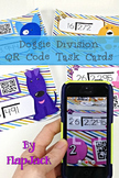 Long Division with Two Digit Divisors Task Cards with QR Codes