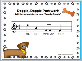 Doggie, Doggie {Kodaly Folk Song to teach so-la-mi and ta, ti-ti}