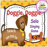 Doggie, Doggie {Kodaly Folk Song to teach so-la-mi and ta, ti-ti}