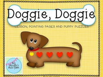 Doggie, Doggie: Lesson, Pointing Pages and Puppy Puzzles