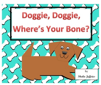 Doggie, Doggie, Where's Your Bone? Coordinate Graph SmartBoard