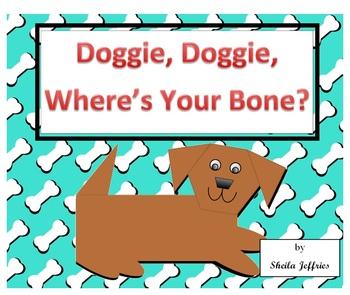 Doggie, Doggie, Where's Your Bone? Coordinate Graph SmartBoard