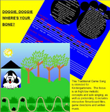 Doggie, Doggie...Traditional Singing Game-so & mi - Q&A - Solo-SMARTboard