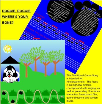 Doggie, Doggie...Traditional Singing Game-so & mi - Q&A -