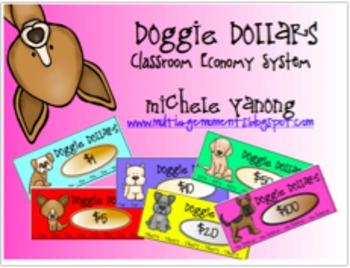 Doggie Dollars Classroom Economy and Behavior System