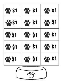 Doggie Dollars - Classroom Management - Modified Classroom Economy