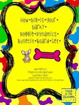 Doggie Dynamics Music Bulletin Board Set
