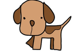 """Doggie """"Hand-Drawing"""" Video Clip Art"""