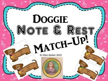 Doggie Note & Rest Match-Up!
