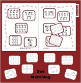 Doggie Set Counting to 10 - Numeric Value Recognition File Folder Game
