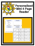 Doggie Snow Day Activity-zine Free Mini Editable Booklet