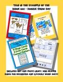 Doggie Snow Day Activity-zine Supplement Packet - Preschoo