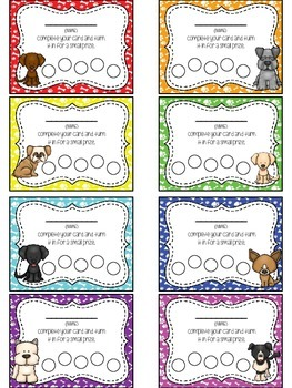 Doggie Themed Punch Card Pack