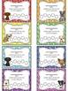 Doggie Themed Punch Card Sampler