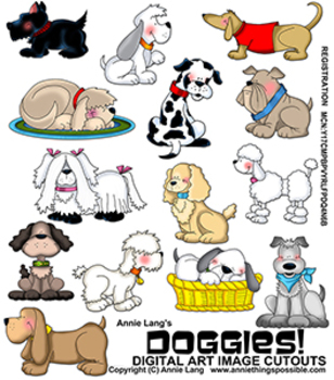 Doggies Clipart