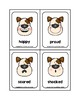 Doggone Emotions Picture Word Flash Cards