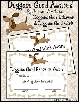 Doggone Good Awards!