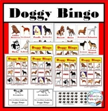 Dog Theme Bingo Game (Dog Breeds)