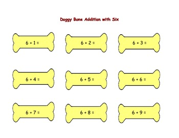 Doggy Bone Addition Match