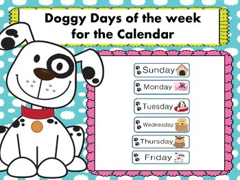 Doggy Days of the Week