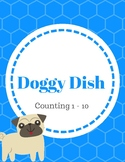 Doggy Dish - File Folder Game