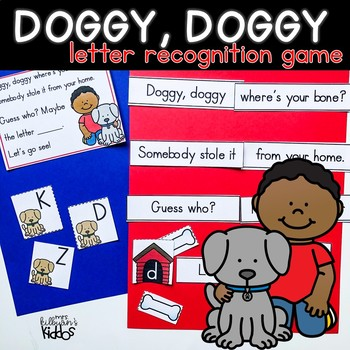 Doggy Doggy Letter Recognition Game