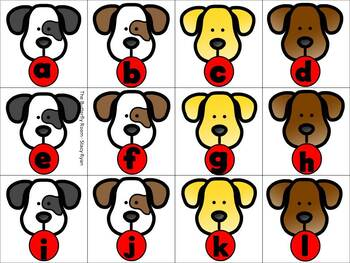 Doggy, Doggy- Letter and Number Recognition Games