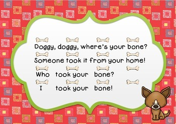 """""""Doggy, Doggy"""" a traditional game song"""