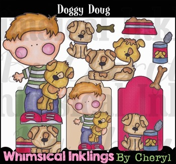 Doggy Doug Clipart Collection