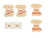 Doggy Uppercase & Lowercase Letter Sort