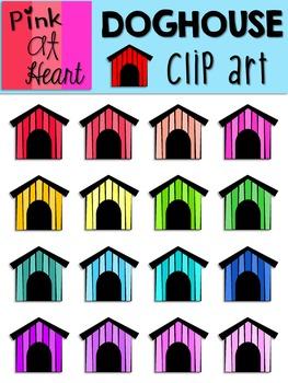Doghouse Clip Art