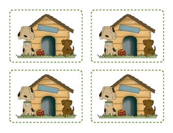 Doghouse Doubles Addition Game