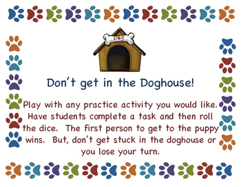 Doghouse Game Board
