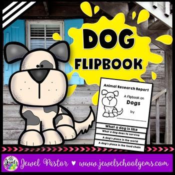 Dog Science Activities (Dog Research Flipbook)