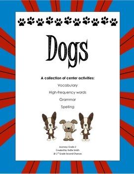 Dogs 2nd Grade Journeys Unit 1.3