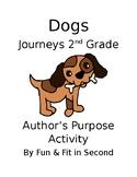 Dogs Author's Purpose Activity