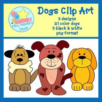 Dogs Clip Art